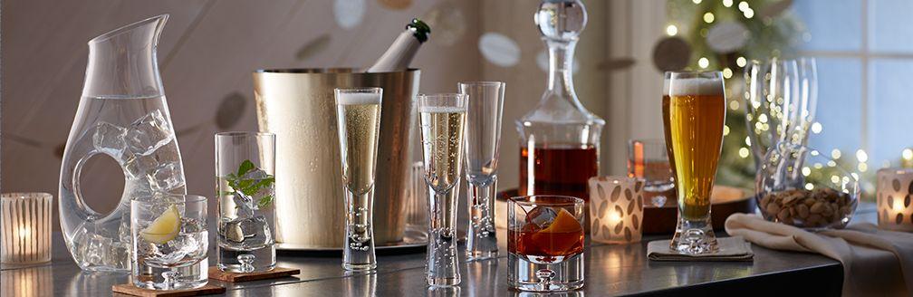 Verve Champagne Flutes