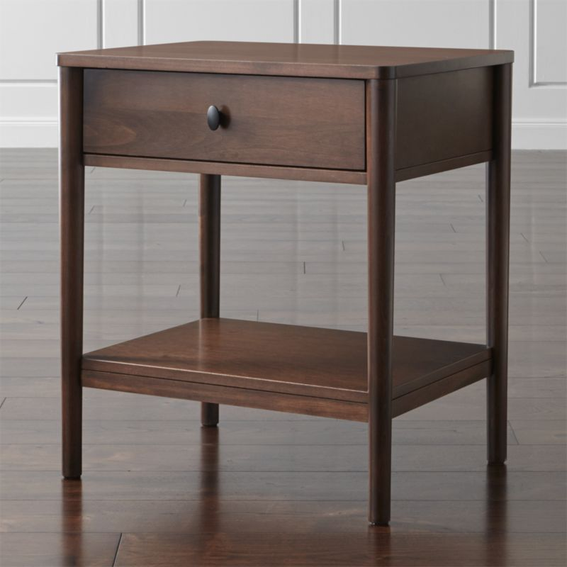Gia nightstand crate and barrel Things to use as nightstands