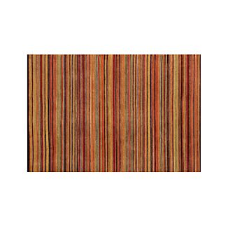 Gianni Rust Hand Knotted Wool 6'x9' Rug