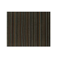 Gianni Teal Blue Striped Wool 8'x10' Rug