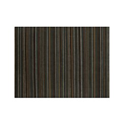 Gianni Teal Blue Striped Wool 9'x12' Rug