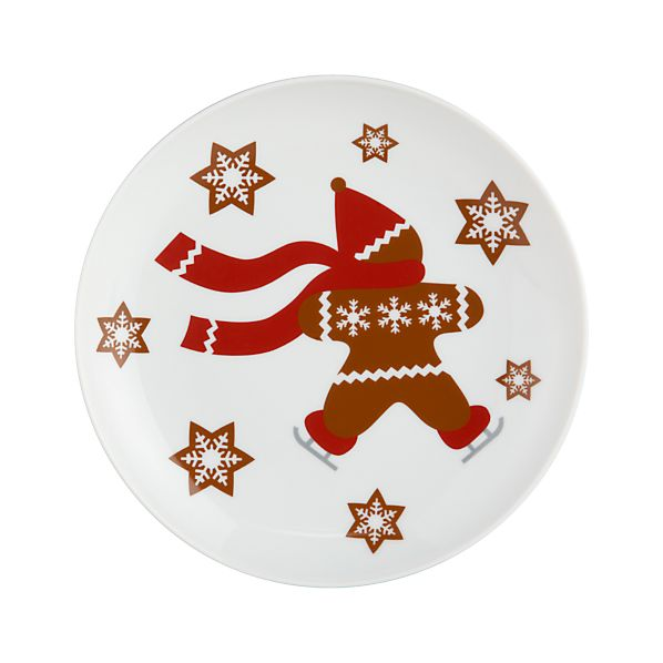 "Gingerbread Man 7"" Plate"