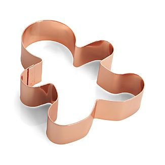 Copper Gingerbread Man Cookie Cutter