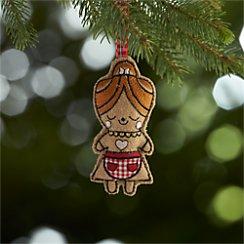 Gingerbread Mom Ornament