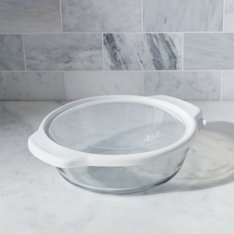 Glass Bake and Store Round Casserole
