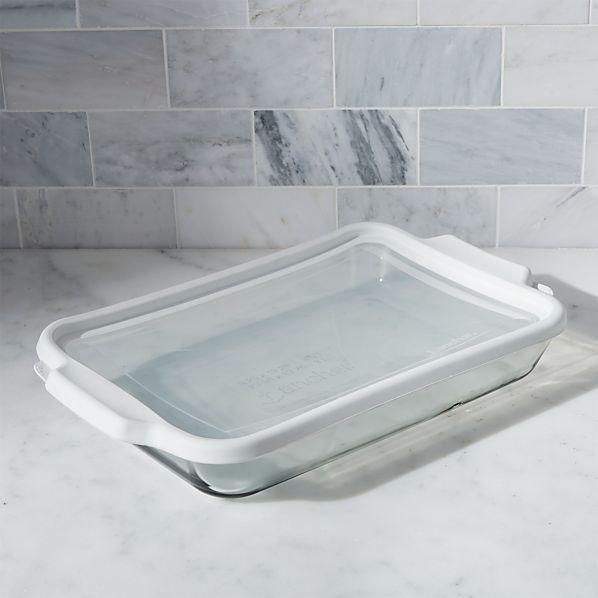 Glass Bake and Store Rectangular Casserole Dish
