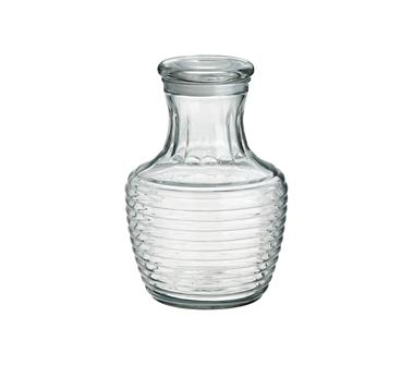 Crate and Barrel - Glass Beverage Carafe with Lid