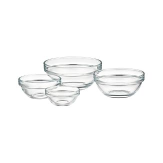 "Glass 2.25""-4"" Bowls"