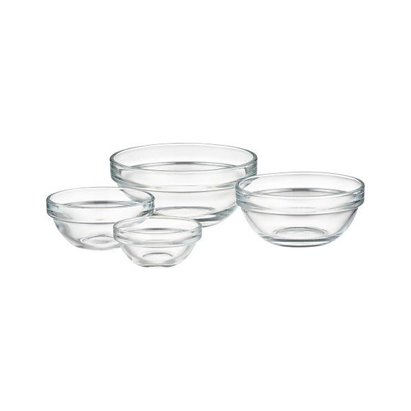 "Glass 2.25""-4"" Bowls"