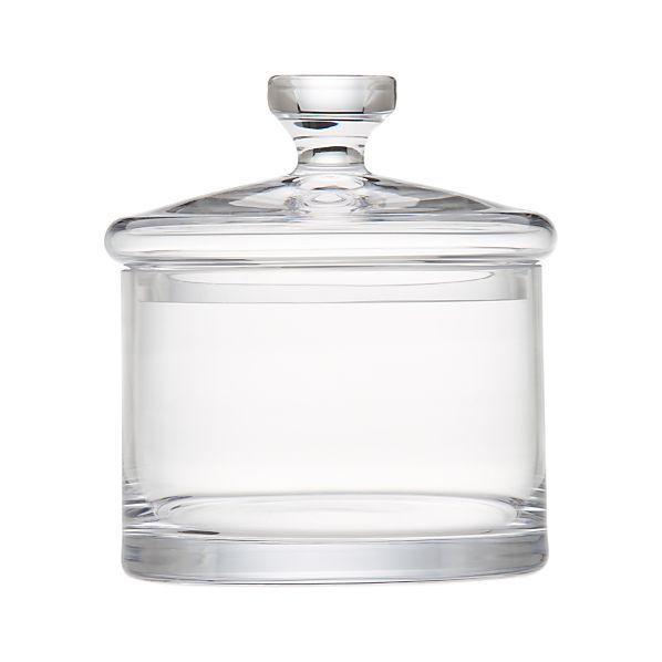 Medium Glass Canister