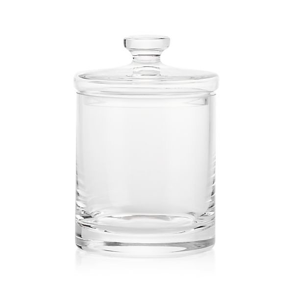 Small Glass Canister