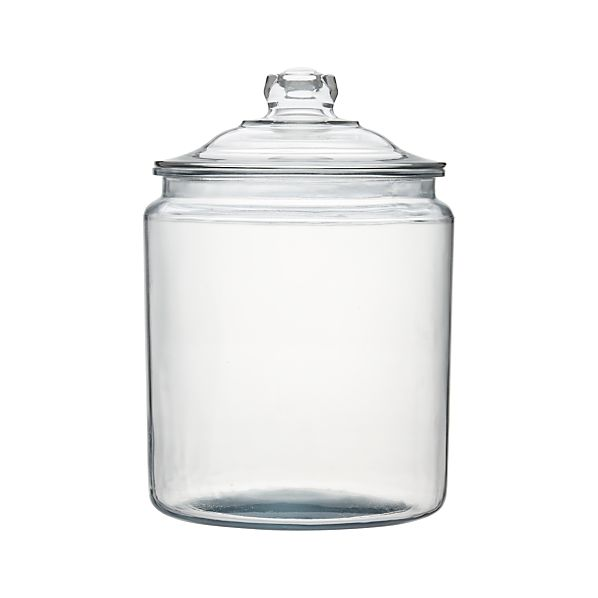 Heritage Hill 256 oz. Glass Jar with Lid
