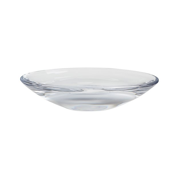 Oval Glass Soap Dish