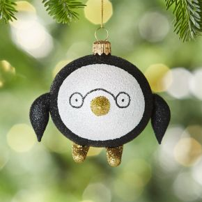 Penguin with Glasses Ornament