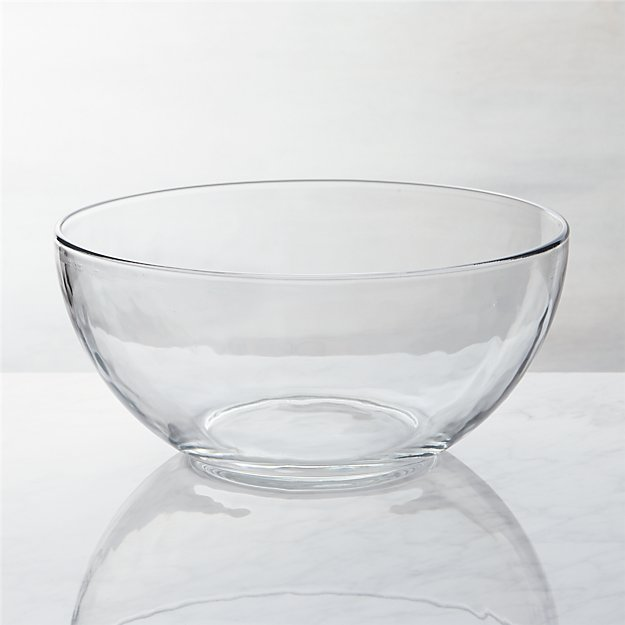 Glass Serving Bowl Crate And Barrel