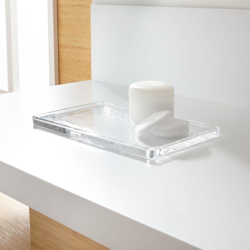Glass Vanity Tray