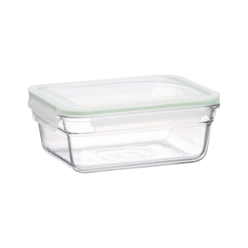 """Cook, serve and store in this green-minded, heat- and shatter-resistant tempered glass. Manufactured to withstand heavy use, """"ovensafes"""" feature 100% airtight silicone seals and leak-proof lids.<br /><br /><NEWTAG/><ul><li>Tempered glass, polypropylene with a silicone seal</li><li>BPA free</li><li>Dishwasher-, freezer- and oven-safe up to 450 degrees</li><li>Microwave-safe without lid</li><li>Made in South Korea</li></ul>"""