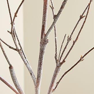 Glitter Birch Stem