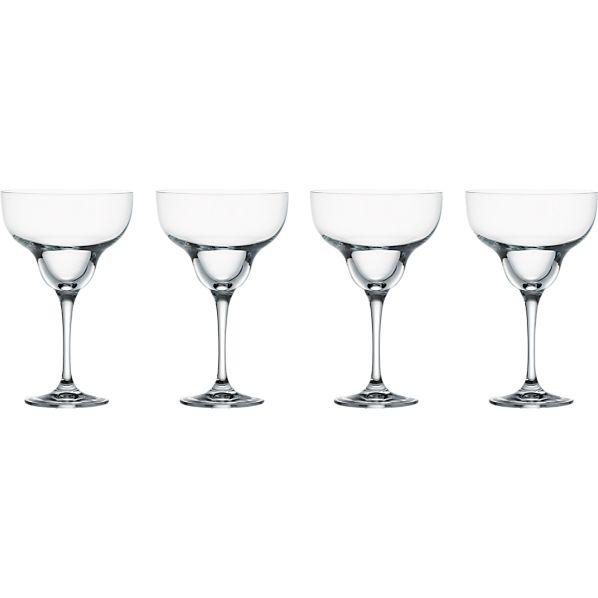 Set of 4 Glory Margarita Glasses