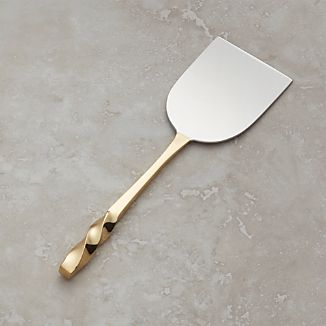 Gold Wedge Cheese Knife