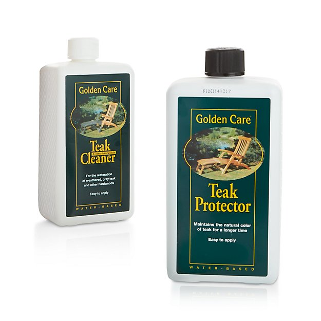 Golden Care 174 Outdoor Teak Cleaner Protector Crate And