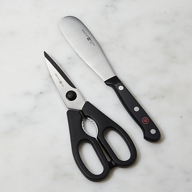 Wusthof Gourmet ® 2-Piece Shears and Spreader Set