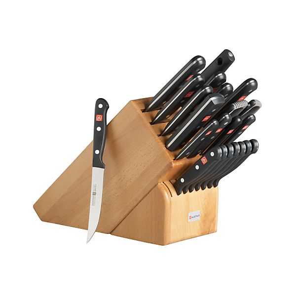Wüsthof ® Gourmet 23-Piece Knife Block Set