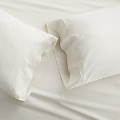 Set of 2 Grace Ecru King Pillow Cases