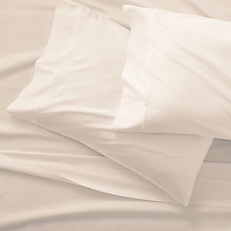Grace Sateen Ivory Sheet Set