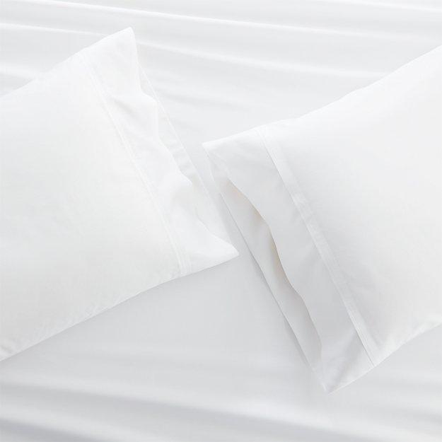 Set of 2 Grace Snow Standard Pillow Cases