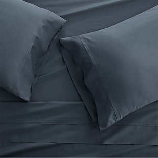 Set of 2 Grace Vintage Indigo King Pillow Cases Crate and Barrel