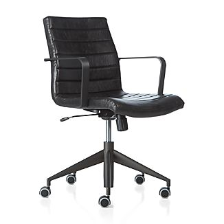 Graham Desk Chair Black