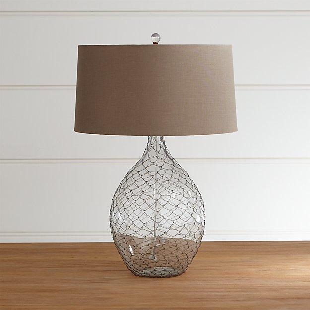 gramercy table lamp crate and barrel. Black Bedroom Furniture Sets. Home Design Ideas