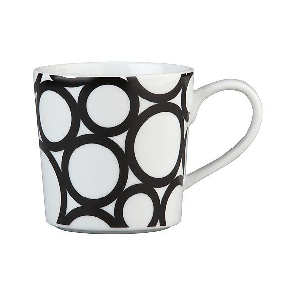 Graphic Circles Mug