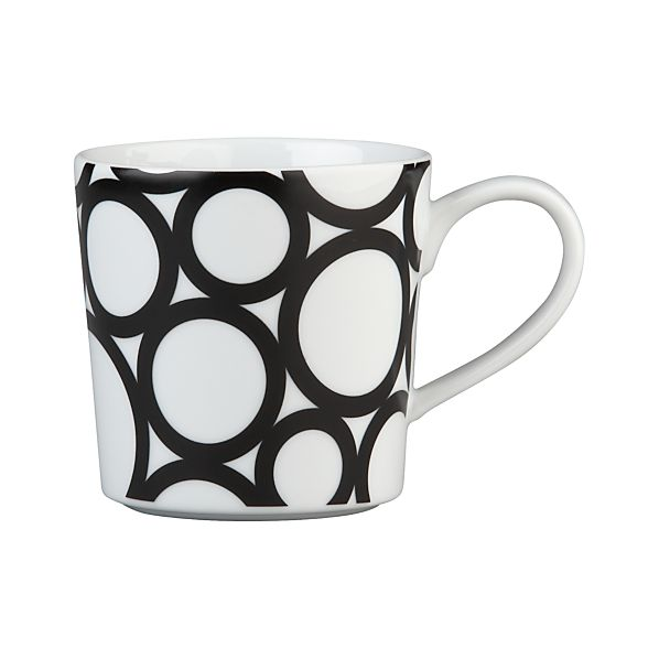 Graphic Circles Mug