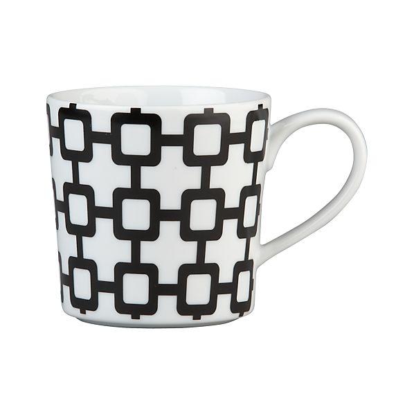 Graphic Grid Mug