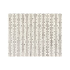Graphite Neutral Striped Wool 8'x10' Rug