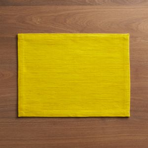 Grasscloth Maize Placemat