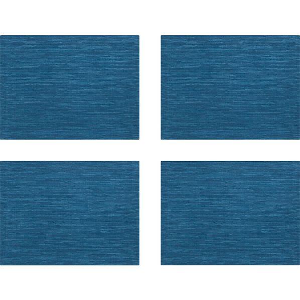 Set of 4 Grasscloth Corsair Placemats