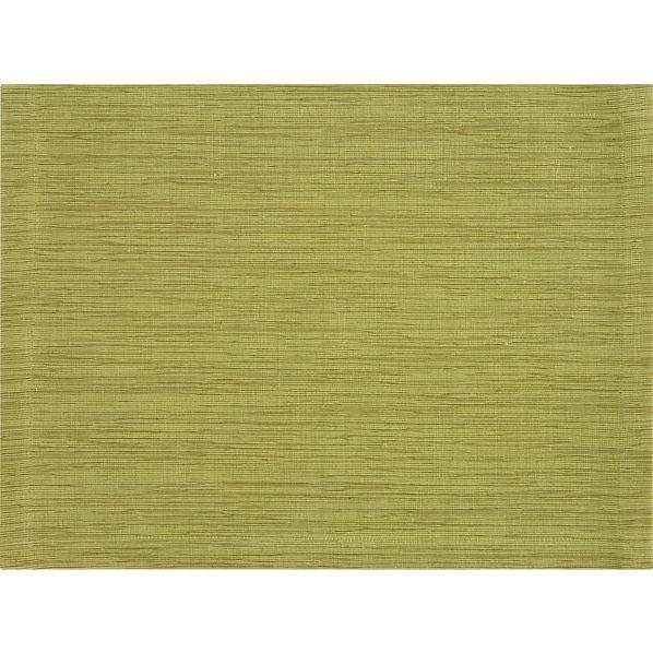 Grasscloth Lemongrass Placemat