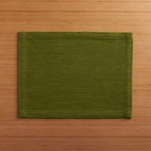 Grasscloth Pesto Placemat