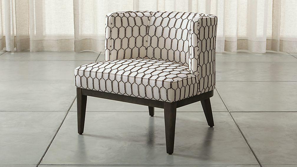 Grayson Chair Velma Mocha Crate And Barrel