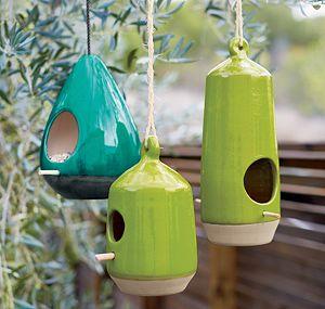 Emerald Bird Feeder