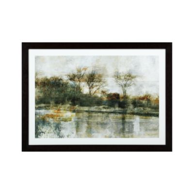 Green Trees Landscape Print