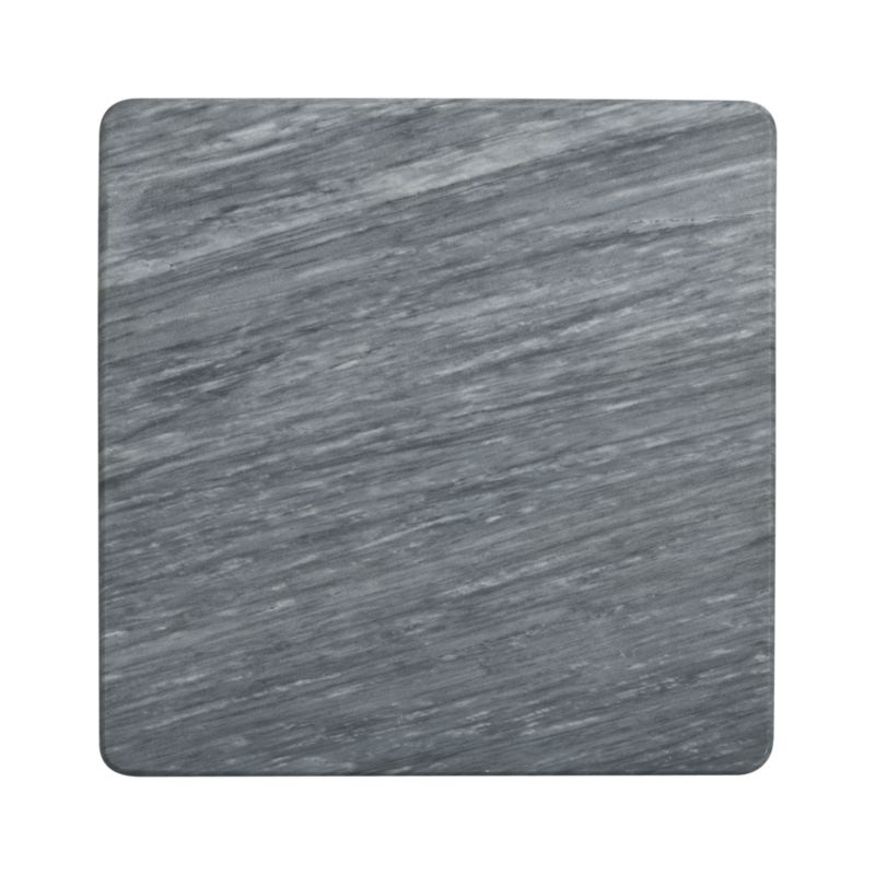 Handsome grey marble is crafted into a sophisticated cheese board that looks great on your countertop when not in use. Nonskid feet. Each board will be unique.<br /><br /><NEWTAG/><ul><li>Natural marble</li><li>Hand wash</li><li>Made in Taiwan</li></ul>