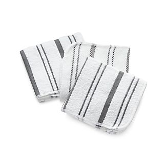 Grey Scrub Cloths Set of Three