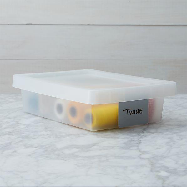 Small Grey Tag Box