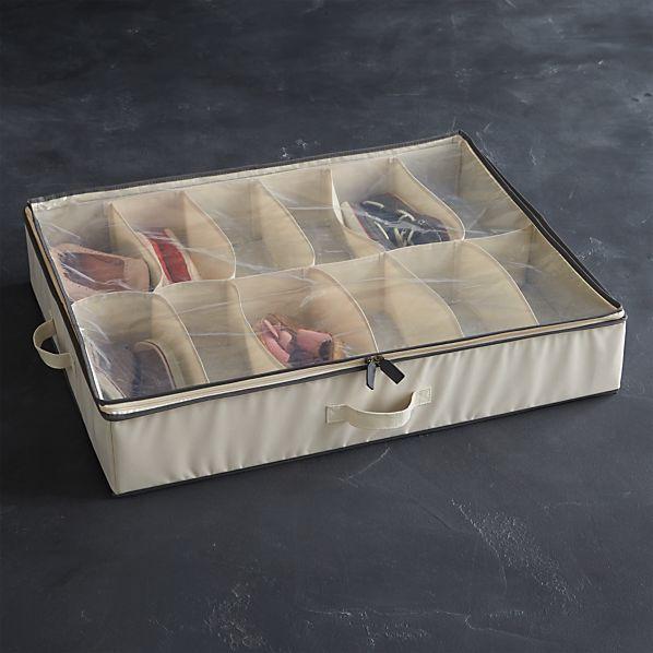 Underbed Storage with Grey Trim