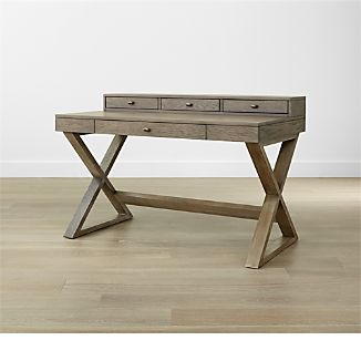 Wood Writing Desk Crate And Barrel