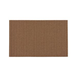 Grid Brown Indoor-Outdoor 5'x8' Rug